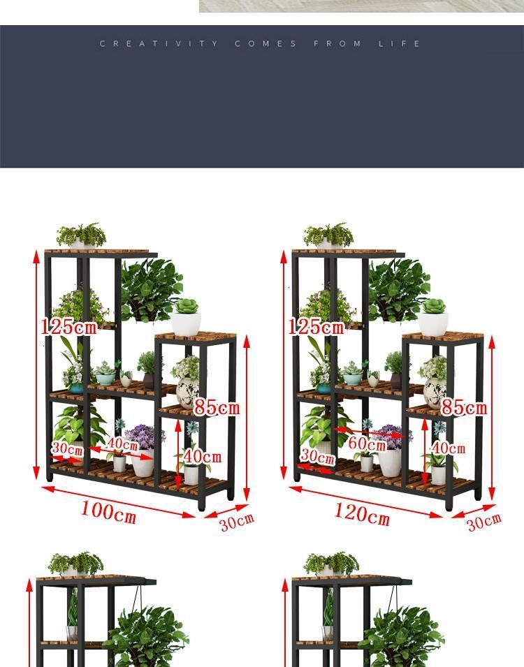 Интерьер Macetas гостиная Estanteria Balkon Mueble Para Plantas балкон Stojak Na Kwiaty полка открытый цветок завод Стенд