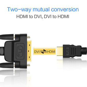 Image 5 - DVI to HDMI 1080P 3D HDMI to DVI HDMI 케이블 DVI D 24 + 1 핀 어댑터 케이블 HDTV DVD XBOX PS4 3 HDMI to DVI 케이블 1M 2M 3M 5M