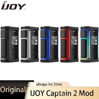 Original IJOY Captain 2 Mod powered by dual 18650 batteries Vape Mod Fit V Sub-Ohm Tank 180W Univ.pro chipset TC Box Mod 18650 цена 2017