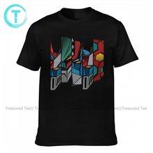 Goldorak T Shirt Cute 100 Percent Cotton Beach T-Shirt Short Sleeve Printed Tee Shirt Oversized Male