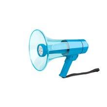 Water Resistant Portable Megaphone 50 Watt Power Speaker Bullhorn Voice And Siren/Alarm Modes With Volume Control