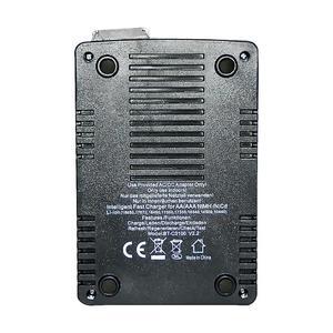 Image 5 - Yeni OPUS BT C3100 Li ion pil şarj cihazı NiMH pil şarj cihazı V2.2 evrensel dört yuvaları LCD akıllı şarj edilebilir pil şarj cihazı