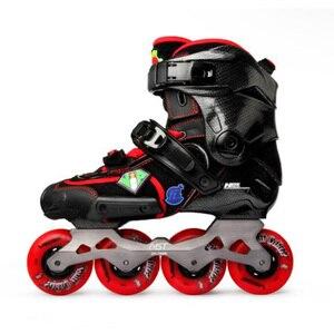 Image 2 - 100% Original 2020 SEBA IGOR2 FZ Adult Inline Skates DIY Roller Skating Shoes Flat Frame Slalom Sliding Free Skating Patines