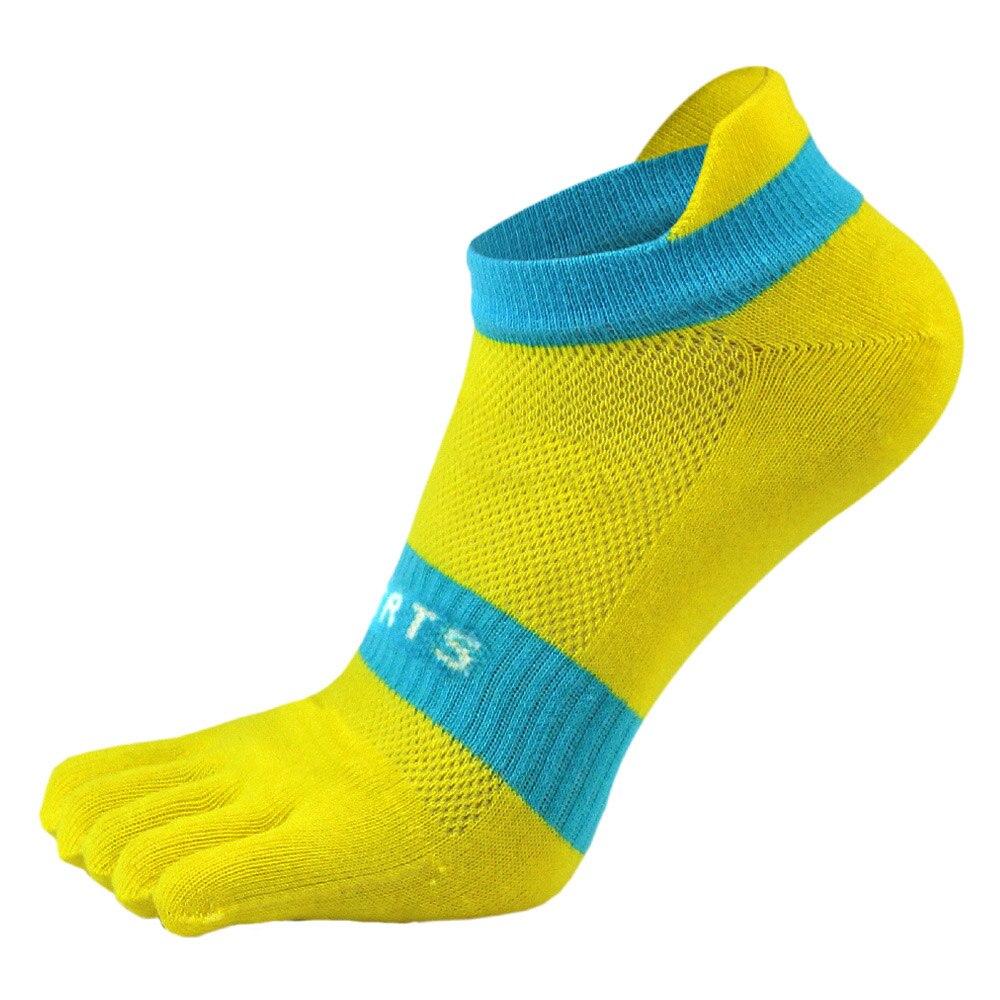 38-43 Men Outdoor Sports Bicycle Socks 1Pair Breathable 5 Finger Toe Slipper Sock Coolmax Pro Cycling Running Socks BC0337 (3)