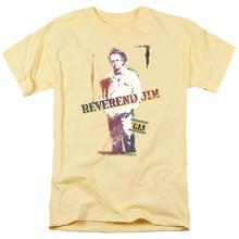 2019 Printed Men T Shirt Cotton Short Sleeve Taxi Reverend Jim Men's Regular Fit T-Shirtwomen t shirt(China)