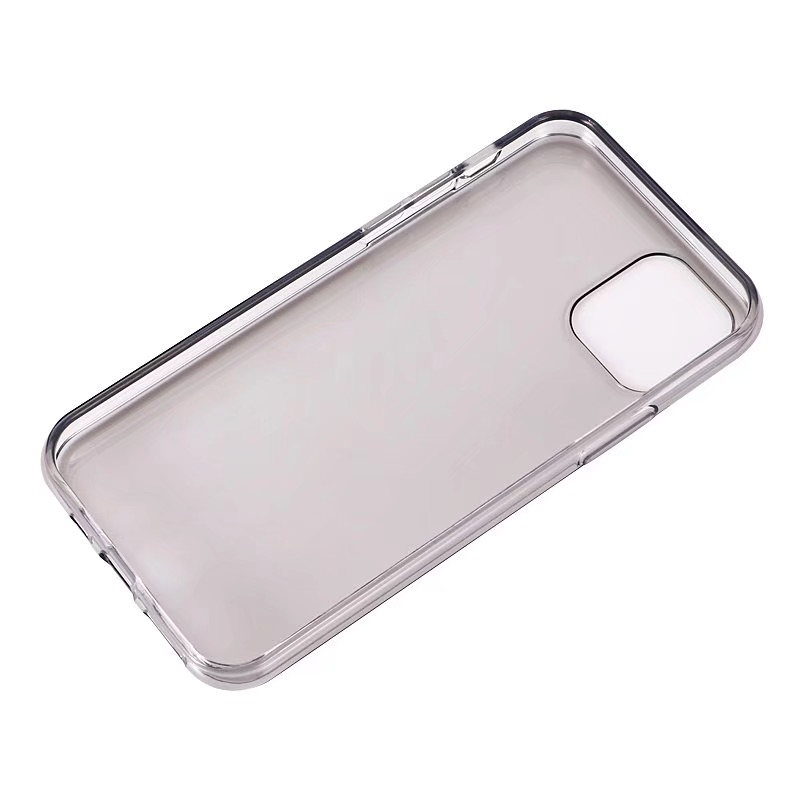 Comanke Transparent Candy Color Silicone Cases for iPhone 11/11 Pro/11 Pro Max 1