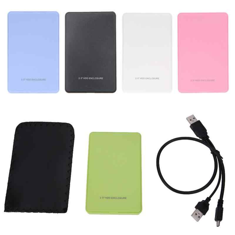 HDD USB 2.5 Inch SATA To USB 3.0 SSD Adapter Hard Disk Drive Box External Enclosure for PC Game HDD Case Rapid Transmission