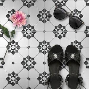 Нескользящие наклейки для напольной плитки самоклеющиеся керамические водонепроницаемые обои художественные диагональные наклейки для п...