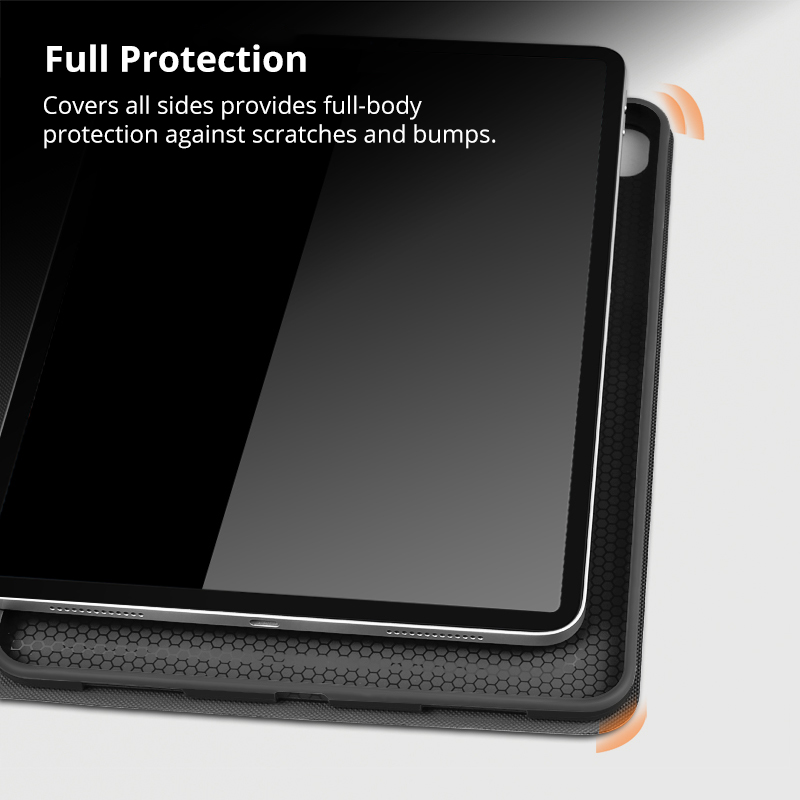Case for iPad Pro 11 2020 2nd Generation New Tablet Funda Slim Magnetic Stand PU Leather