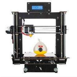 CTC 3D Printer 2019 Upgrade Penuh Berkualitas RepRap Prusa I3 DIY 3D Printer MK8 Melanjutkan Kegagalan Daya Cetak