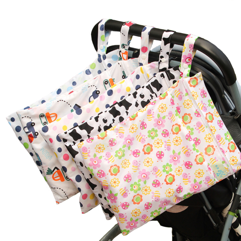 Baby Trolley Mummy Pack Diapers  Bag Waterproof  Baby Diaper  Can Wash YYT328