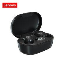 Oryginalny Lenovo XT91 TWS słuchawki bezprzewodowe słuchawki Bluetooth AI Control zestaw słuchawkowy do gier Stereo Bass redukcja szumów z mikrofonem