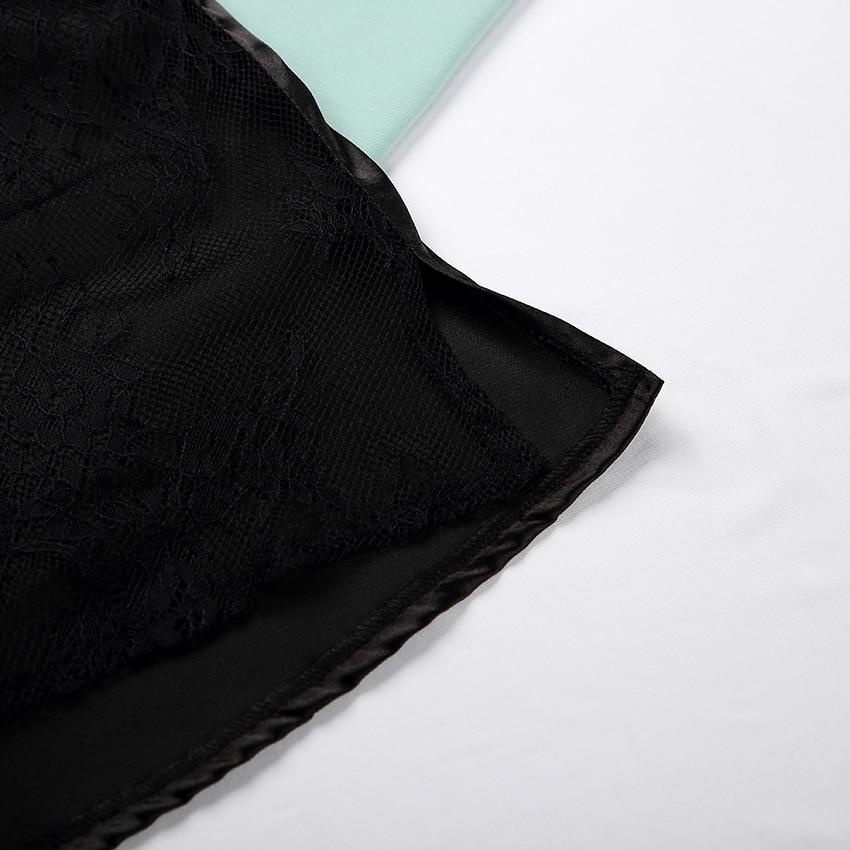 Pyjama Sexy en Satin noir, dos nu, dentelle avec pantalon, ample, bretelles Spaghetti
