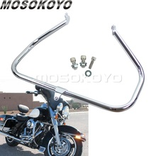 Chrome Motorcycle Engine Guards Protection Crash Bar For Harley Trike 2009-later Touring Electra Street Glide FLH  Ultra Classic