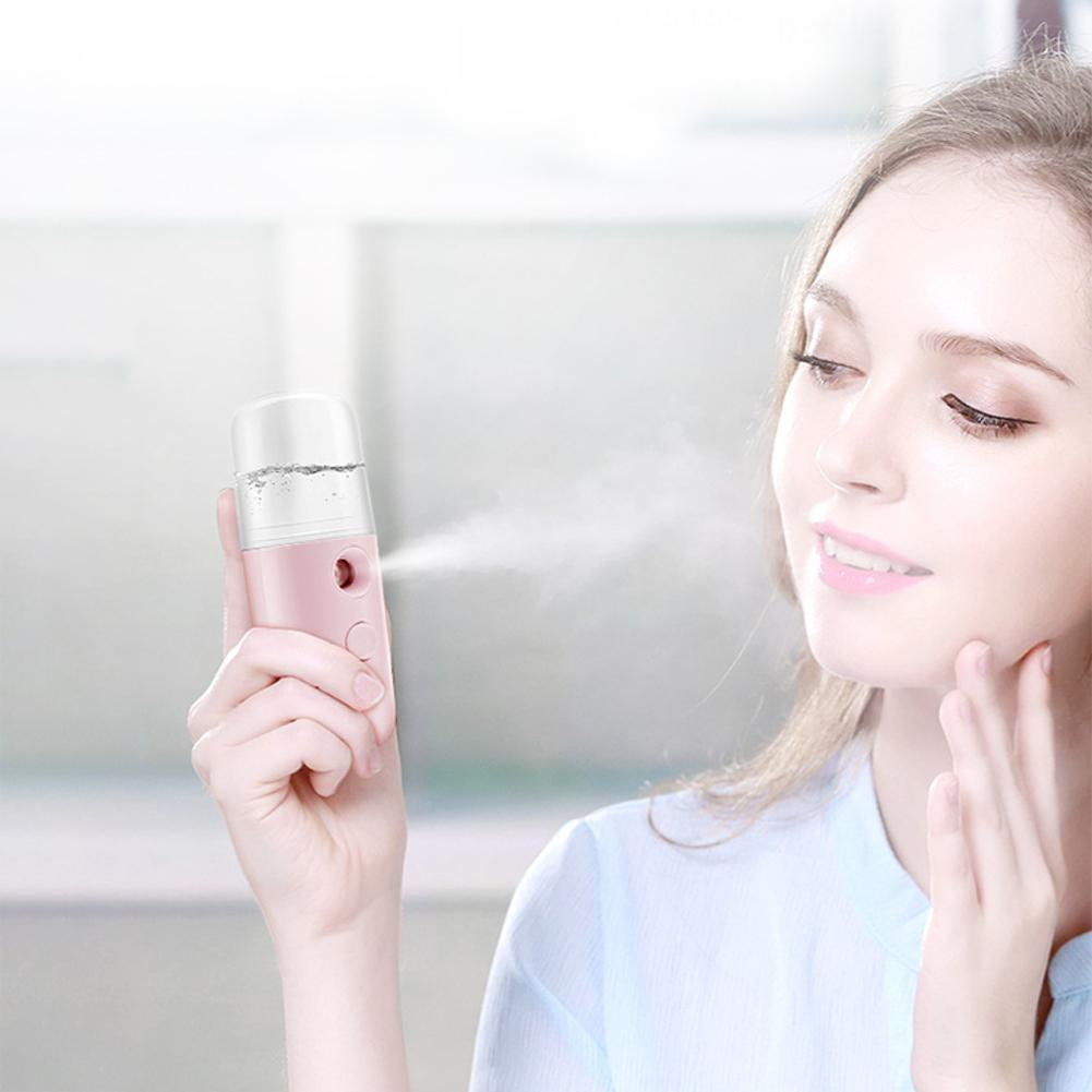 BellyLady Portable Water USB Air Humidifier Steaming Spray Hand-held Cold Beauty Face Humidifier Durable Air Humidifier