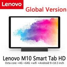Global Version Original Lenovo Smart Tab M10 HD X606X MediaTek P22T Octa Core 4G RAM 64G ROM 10.3 Inch WIFI Android 9 Tablet PC