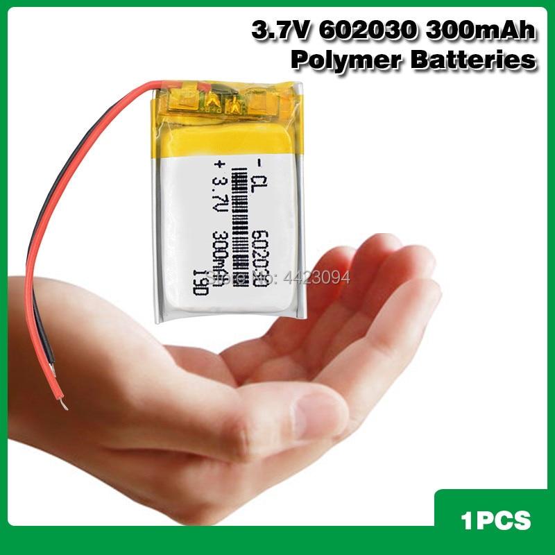 602030 мини Lipo аккумуляторная литиевая батарея 300mAh 3,7 V Bluetooth MP3 Беспроводная карта аудио рекордер литий ионные аккумуляторы|Перезаряжаемые батареи|   | АлиЭкспресс