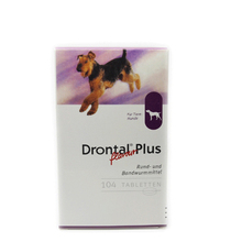 Drontal Plus For Dogs 8/32/104 Tablets (Tapeworm Dewormer for Dogs) Professional Deworming