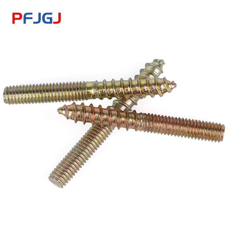 M10 FURNITURE FIXING SCREWS WOOD TO WOOD TO METAL DOWELS ZINC PLATED M6 M8