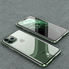 Originele Bobyt Metal Case Voor Apple Iphone 11 Pro Max Clear Gehard Glas & Aluminium Bumper Case Cover Voor Iphone 11/ Pro/ Max