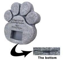 Домашнее животное собака картина надгробия камень маркер табличка крепкий надгробный камень для внутреннего и наружного TP899