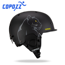 COPOZZ New Unisex Ski Helmet Certificate Half-covered Anti-impact Skiing Helmet For Adult and Kids Ski Snowboard safety Helmet