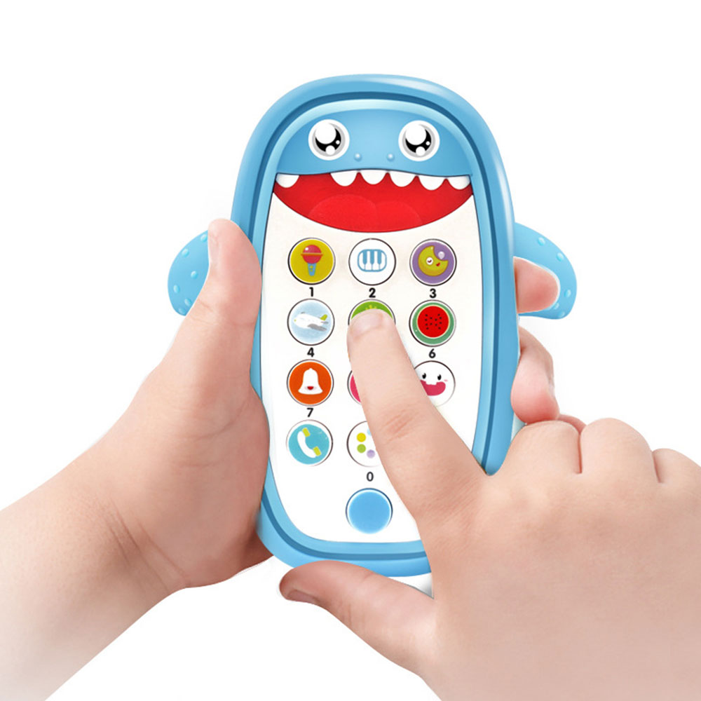 Kids Simulation Mobile Phone Toy Educational Music Learning Toys Eco-friendly Materials For Children Birthday Gifts