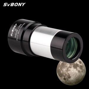"Image 1 - SVBONY 1.25"" 2X Barlow Lens for Astronomy Telescope Monocular Eyepiece 31.7mm Achromatic Metal  F9146A"