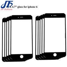 Lot de 10 panneaux tactiles pour iPhone, pour modèles 6, 6S, 7, 8 Plus, 6P, 6SP, 7, 8 P, écran LCD de 5.5 pouces, lentille extérieure, noir et blanc, pièces de réparation
