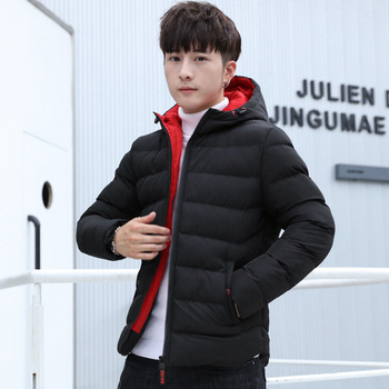 New Style padded Clothes Men's New Style Warm Cotton-padded Clothes Cotton-padded Jacket Padded Jacket Men's Fashion фото