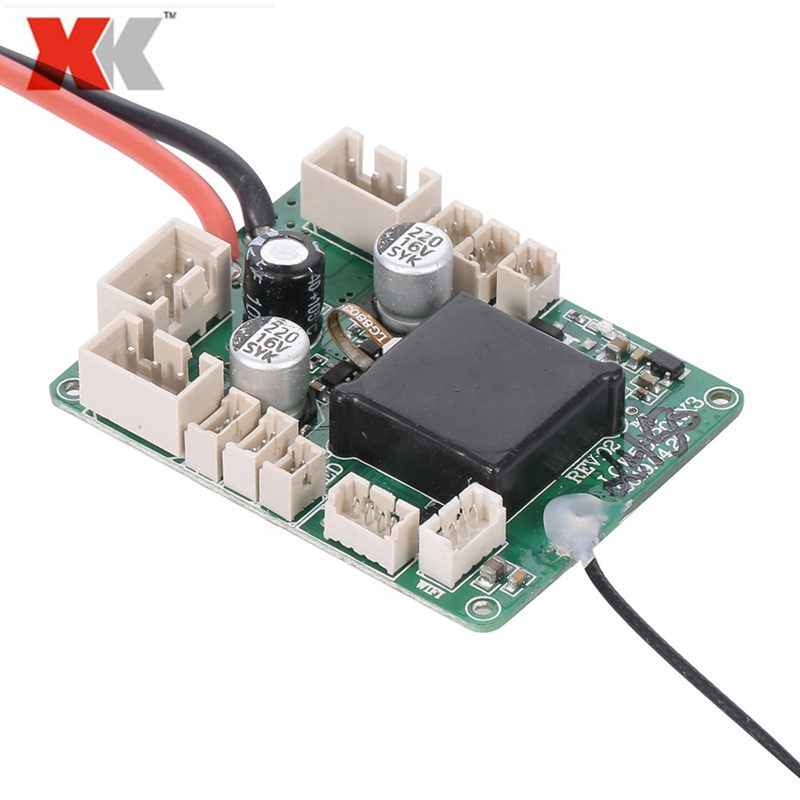 RC Aircraft Receiver Main Board for WLtoys XK X450 RC Airplane Fixed Wing E7G7