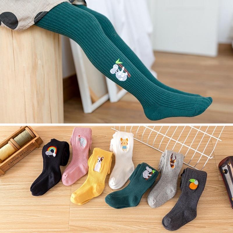 DH.M Knit Cotton Tights Pantyhose Leggings Stocking Pants