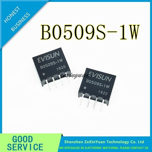 5PCS 10PCS 20PCS B0509S 1W B0509S SIP 4 חדש בידוד DCDC אספקת חשמל מודול 5V כדי 9V Boost