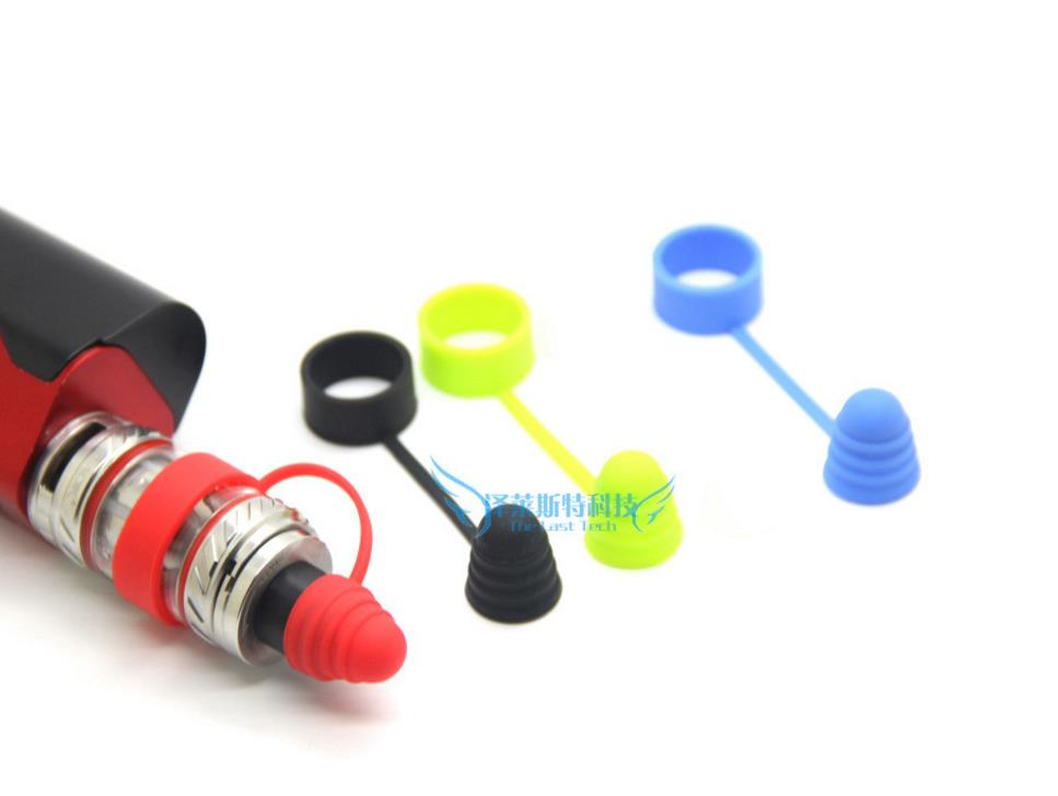1PC Universal Silicone Vape Band Rings Mouthpiece Dust Cap Cover RTA RDA Tank
