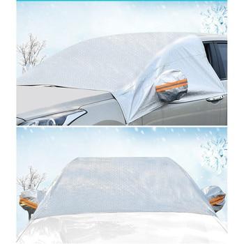 Winter Thickening Car Windshield Cover  Rear View Mirror Covers  Outdoor Anti-frost dustproof heatproof fit sedan SUV Hatchback