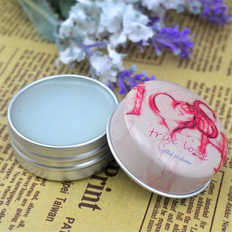 1pc Eau De Parfum 15g Women Soild Perfume Feminino Portable Box Flower Fruit Fragrance Floral Cream Female Parfum Metal Casing 2