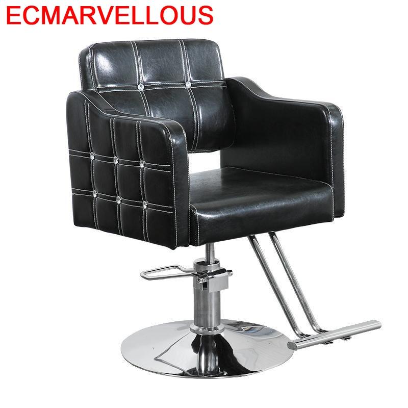 Silla Barbero Furniture Sessel Sedia Schoonheidssalon Beauty Mueble Makeup Shop Barbearia Salon Barbershop Cadeira Barber Chair