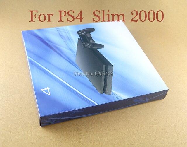 Yüksek kalite yedek konut Shell kılıf kapak Playstation 4 Slim için PS4 ince 2000 oyun konsolu