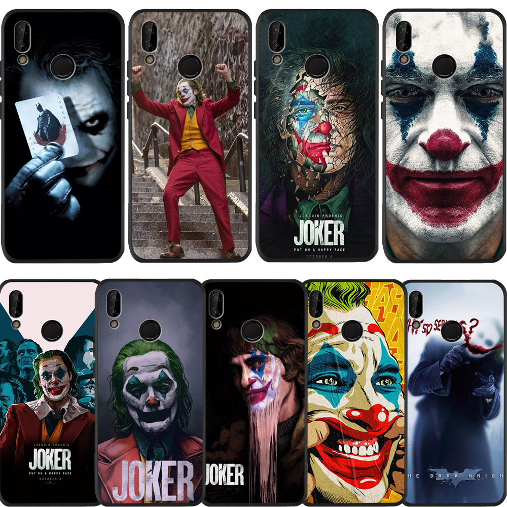 Phone Case Luxury Joker 2019 For Huawei Mate 30 Pro Case For Huawei Mate 10 20 Lite P Smart 2018 Soft Silicone TPU Etui Coque