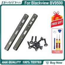 100% neue Original Links und rechts dekorative stücke Für Blackview BV9500 Pro Zurück gehäuse Seite metall Schrauben Zubehör Teile
