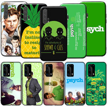 Gx188 psych shawn e gus silicone caso para huawei p9 p10 p20 p30 p40 y6 2018 y7 y9 lite pro max prime mini