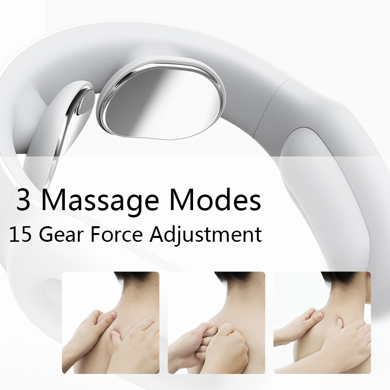 Купить с кэшбэком Portable usb charging mini electric neck massager smart kneading Care Relaxation Cervical Physiotherapy Stimulator