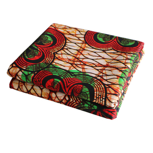 Image 4 - Africa Ankara Printing Patchwork Fabric Real Wax Tissu African Sewing Material for Dress Craft DIY Accessory Pagne 100% Cotton