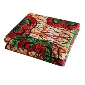 Image 4 - Africa Ankara Stampa Patchwork Tessuto Reale Della Cera Tissu African Materiale Da Cucire per il Vestito FAI DA TE Accessorio Pagne 100% Cotone
