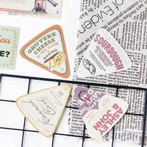 Image 2 - 5packs/lot Mode Design Werbung Boxed Nachricht Postkarten Büro Schule Liefert Mini Papier Postkarte Großhandel
