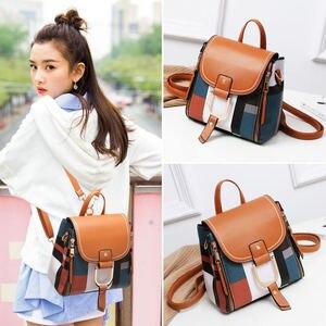Damski designerski plecak z multipl uaing pu skórzany plecak nowy damski plecak siatkowy plecak szkolny damski dziewczęca torba podróżna torebka