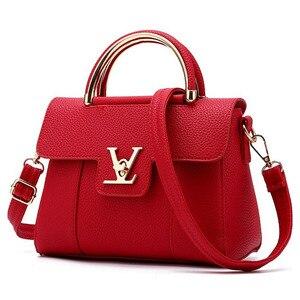 Image 5 - Women Handbags PU Leather Shoulder Messenger Bags lady Hand Bags High Quality Fashion Female Bag Crossbody Bags for Women 2020