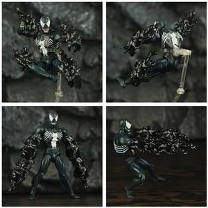 "Image 4 - Comic Venom & Amazing Spider 6 ""Action Figure Edward Eddie Brock Legends Peter Parker Uomo Cattivo KO delle Mafex 088 075 giocattoli Bambola"