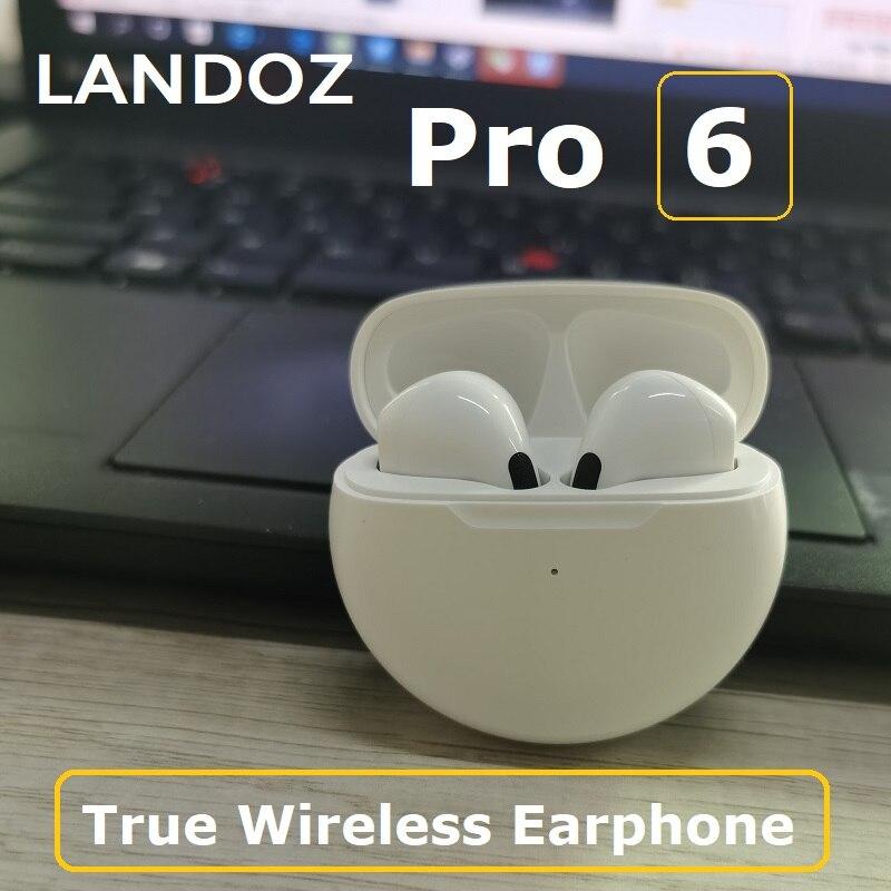 Беспроводные наушники PRO4 TWS Bluetooth Airpro, наушники-вкладыши pro6, зарядный чехол для SportsWater, гарнитура для режима «свободные руки» для телефонов ...