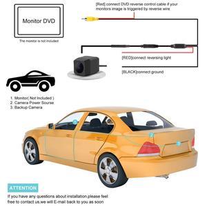 Image 5 - Rear Veiw Camera for VW Passat Tiguan Sagitar Touareg Sharan Touran Lavida Golf Jetta Skoda Rapid Octavia Yeti Audi Seat Cayenne